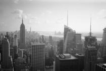 Downtown - NY (Olympus XA - Kodak TMax 100)