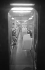 Long Island Rail Road - NY (Olympus XA - Kodak TMax 100)