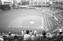 Citi Field - Mets Baseball - Queens, NY (Olympus XA - Kodak Tri-X 400)