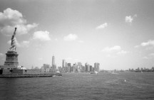 Liberty Island - New York (Olympus XA - Kodak TMax 100)