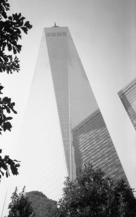 One World Trade Center - NY (Olympus XA - Kodak Tri-X 400)
