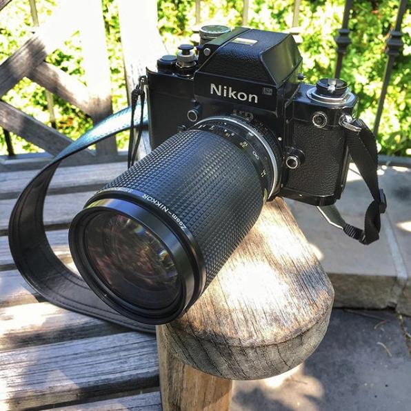 Camera: Nikon F2 Photomic (1971). Lens: Nikkor 35 - 200mm f/3.5 - 22 - Macro.