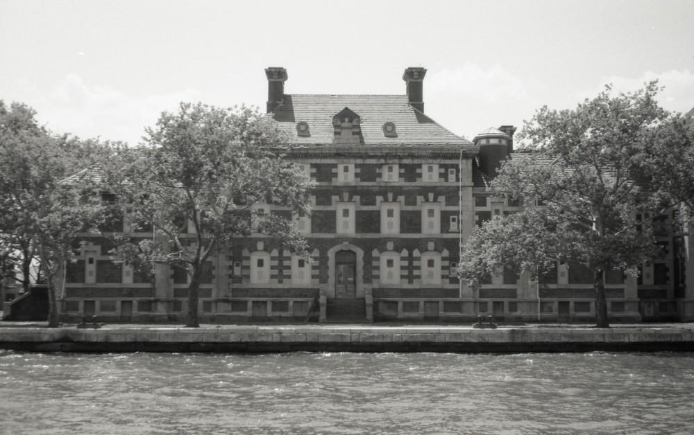 Abandoned Ellis Island Hospital