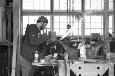 D&RGW 223 Restoration Shop - Ogden, Utah.