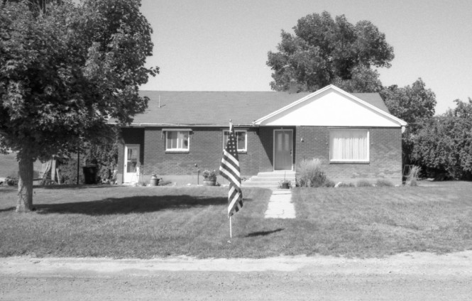 Freakin' Sweet! Napolian Dynamite's House - Preston, Idaho.