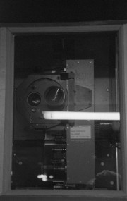 Projection Booth in the Main Theater - Smithfield, Utah.