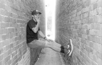 Caleb in the Alley - Brigham City, Utah