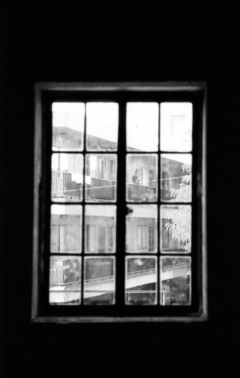 View of the Former Ben Lomond Apartments - Ogden, Utah