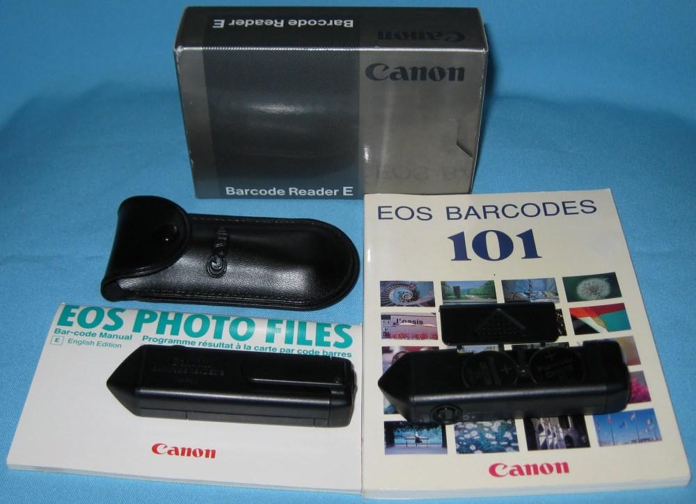 Canon Barcode Reader E