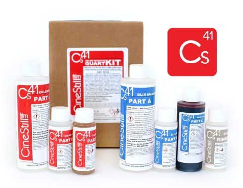 CineStill CS41 Liquid Developing Quart Kit for Processing C-41 Color Negative Film