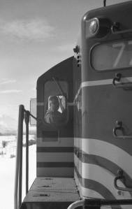 Heber Valley Railroad - Boston & Maine Diesel Engine - Heber City, Utah