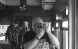 Heber Valley Railroad - 100 Business Car Selfie - Heber City, Utah