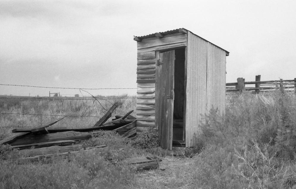 Rock Creek Outhouse - Hansen, ID