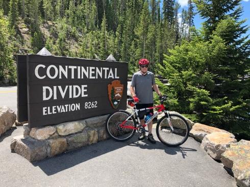 Shaun in Yellowstone National Park