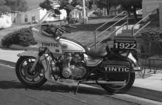 Kawasaki Police 1000 at the Tintic Motorcycle Museum in Eureka, Utah.