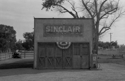 Sinclair Gas Station in Elberta, Utah.