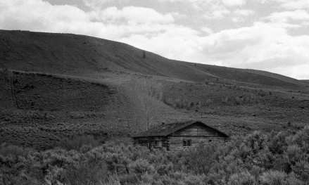 Abandoned Cabin on Monte Cristo Road, Utah.