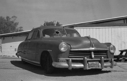 Abandoned Car in Eureka, Utah.