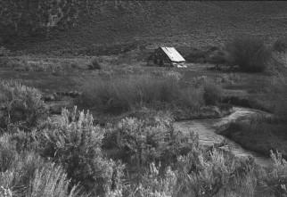 Abandoned Barn on Monte Cristo Road, Utah.