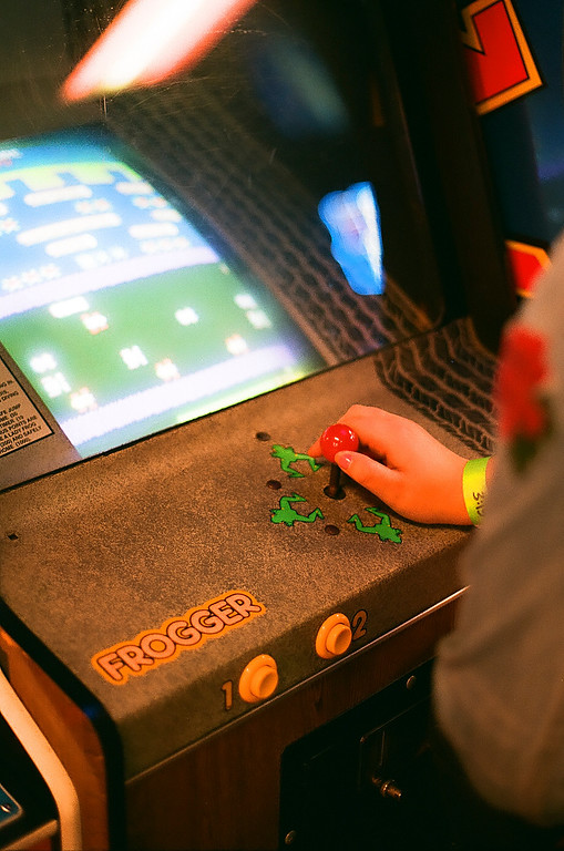 Frogger at Flynn's Retrocade - Roy, Utah