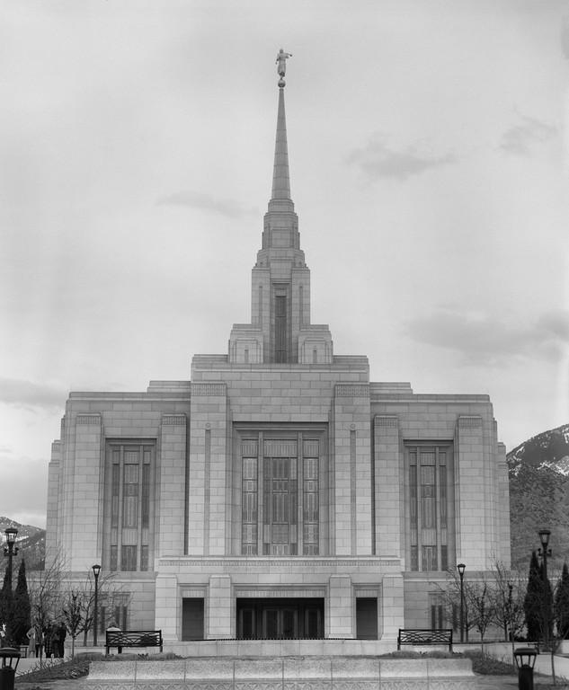 The Church of Jesus Christ of Latter-day Saints - Temple - Ogden, Utah