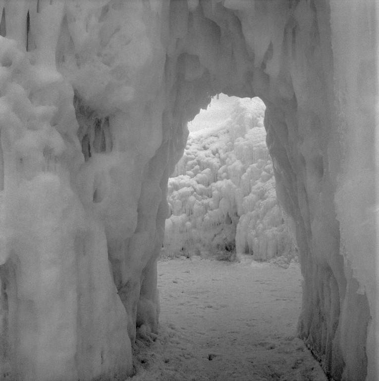 Midway Ice Castles - Midway, Utah (Fuji Acros 100II)