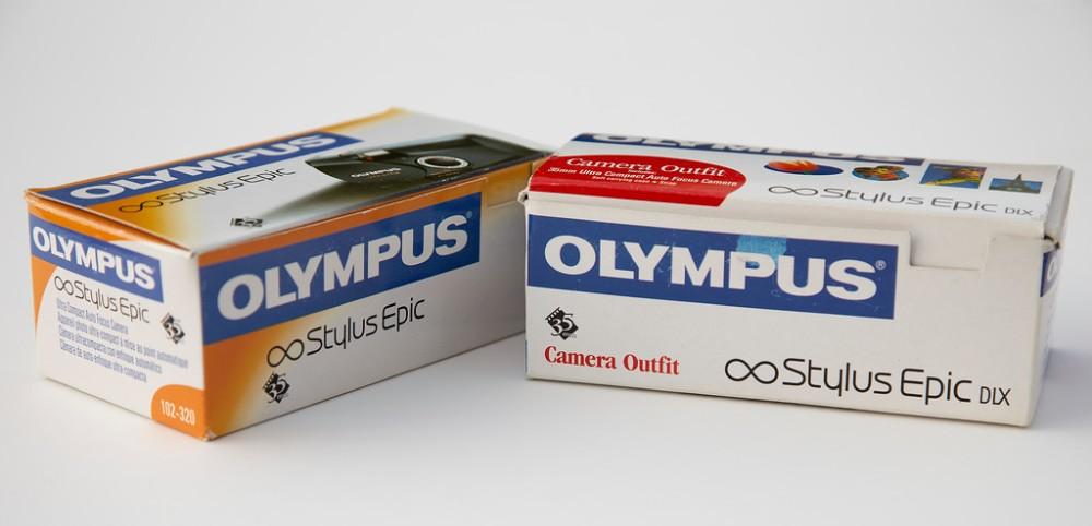 Olympus Stylus Epic & Olympus Stylus Epic DLX