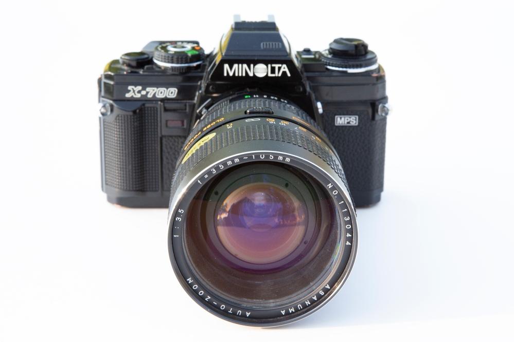 Minolta Z-700 with Asanuma Lens